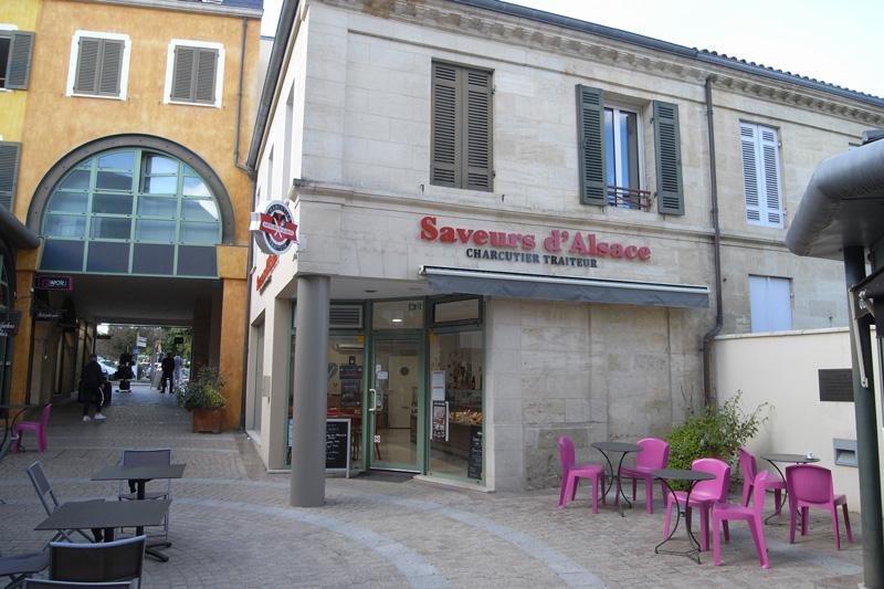 Devanture Charcuterie Saveurs d'Alsace