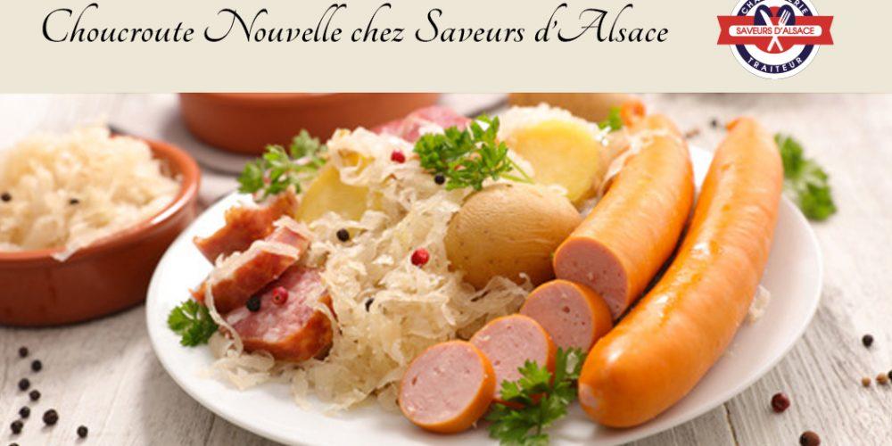 Choucroute Nouvelle chez Saveurs d'Alsace