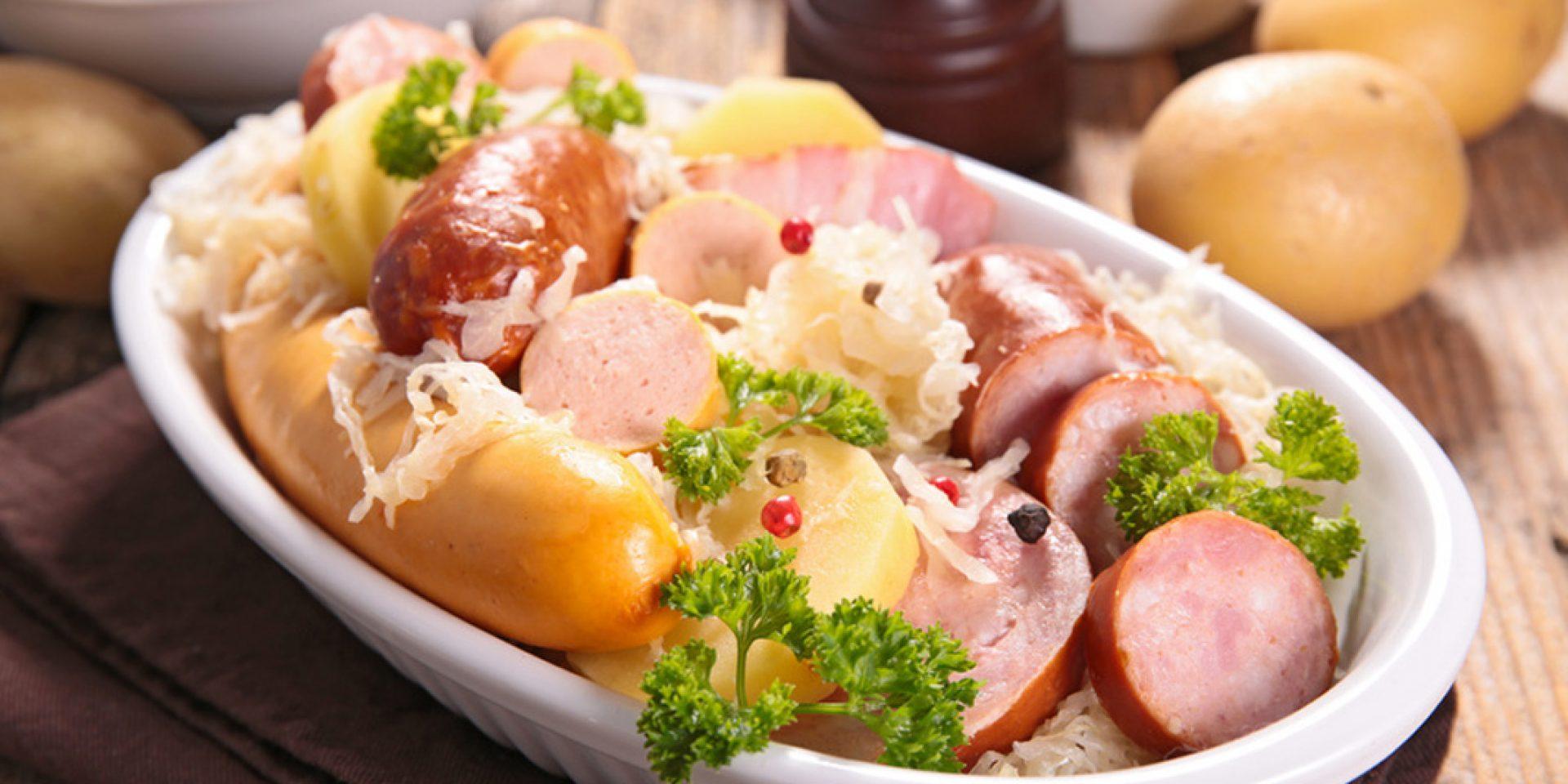 Venez déguster notre véritable choucroute alsacienne