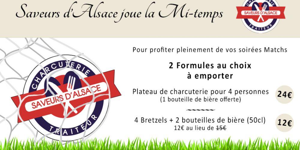 Saveurs d'Alsace joue la Mi-temps