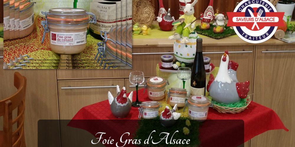 Un mets d'excellence, le Foie Gras d'Alsace !